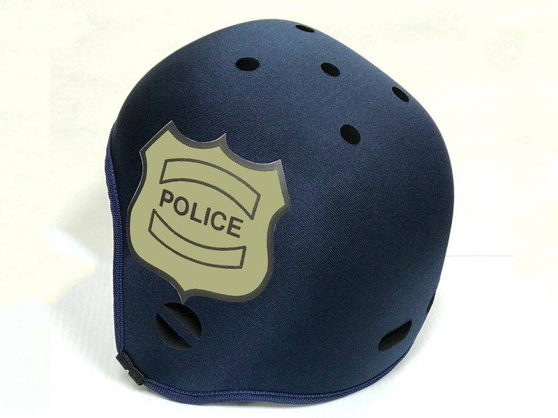 police-badge-soft-helmet